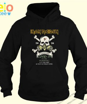 Iron Maiden 2020 Pandemic Covid-19 T-