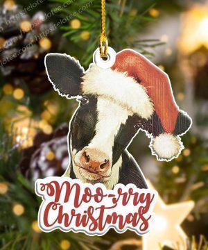 Cow Moorry Christmas Shape Ornament