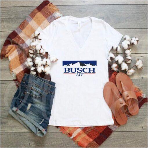 Funny Busch Lit Busch Light Beer t-shirt