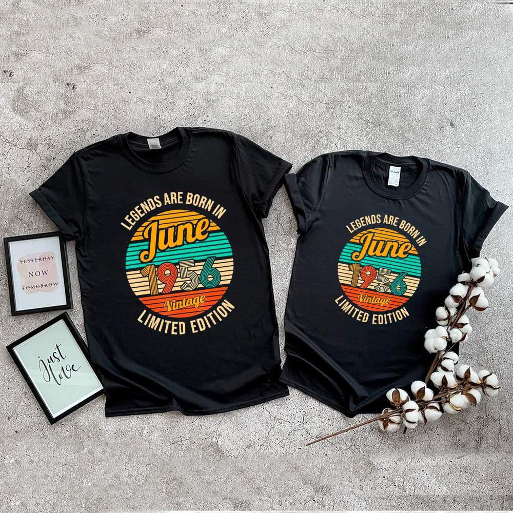 Legends Were Born In June 1956 65th Birthday Vintage shirt