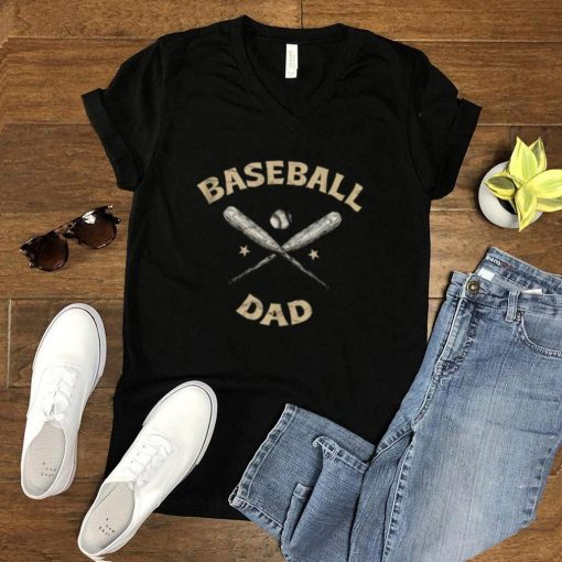 Baseball Dad Sports Family Sports Lover Relatives Children T Shirt