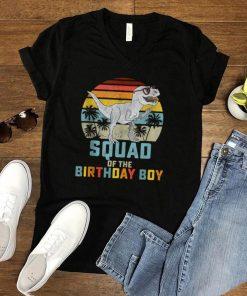 Squad of the Birthday Boy Dinosaur Friend Matching Friends shirt