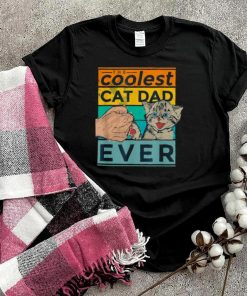 The Coolest Cat Dad Ever Tee Vintage T Shirt
