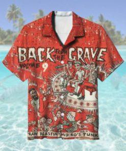 60s Punk Garage Rock Hawaiian Shirt