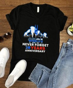 91101 Never Forget 20 Years Anniversary Police Shirt