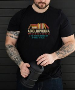 Abibliophobia Dictionary Definition Reading Lover T Shirt