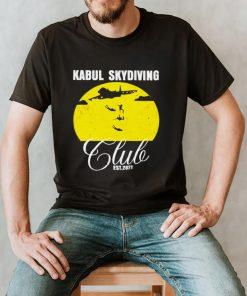 Afghanistan Kabul skydiving club est 2021 vintage shirt