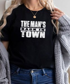 Becky Lynch The Mans Back In Town hoodie, tank top, sweater