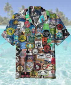 Beers of new England Hawaiian Shirt