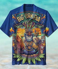 Big Kahuna Cafe Tiki Hawaiian Shirt