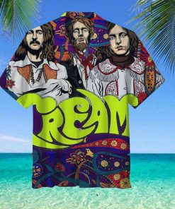 Cream Band Hawaiian Shirt