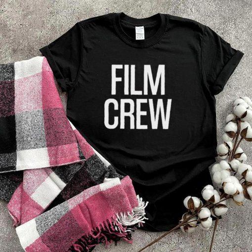 Film Crew Text T Shirt