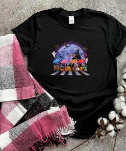 Flamingo Witch Abbey Road Happy Halloween 2021 shirt