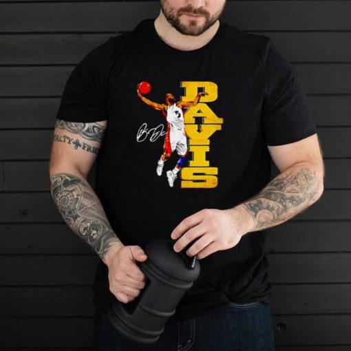 Golden State Throwbacks Baron Davis signature shirt
