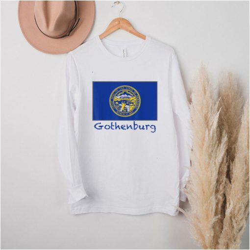 Gothenburg Nebraska USA Flag Souvenir hoodie, tank top, sweater
