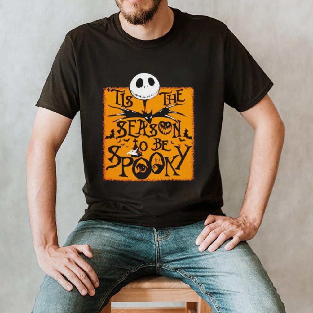 Jack Skellington tis the season to be spooky shirt