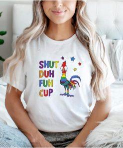 LGBT Hei Hei shut duh fuh cup shirt