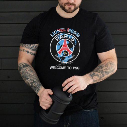 Lionel Messi Paris Saint Germain Welcome To PSG Signature Shirt