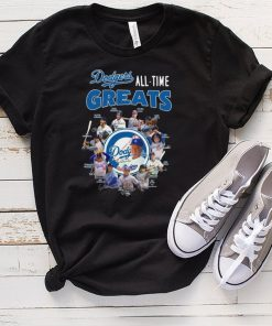 Los Angeles Dodgers all time greats signatures hoodie, tank top, sweater