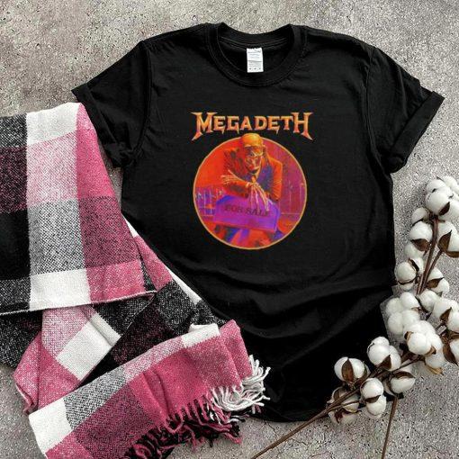 Megadeth peace sells tracklist shirt