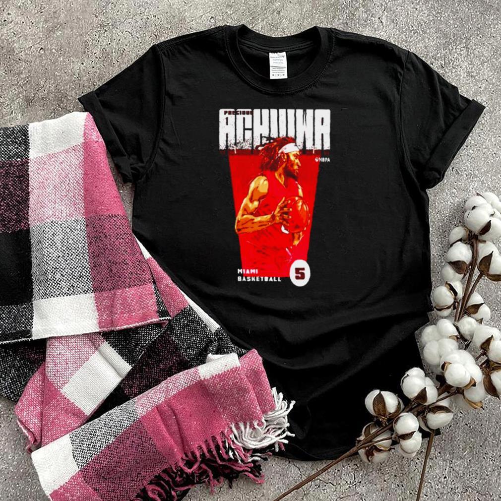 Miami Basketball Precious Achiuwa Premiere shirt