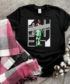 Milwaukee Basketball Giannis Antetokounmpo Stare Stretch shirt