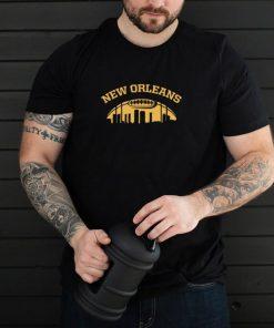 New Orleans Skyline Football t shirt