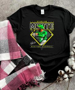Oakland Baseball Starling Marte Diamond Name shirt