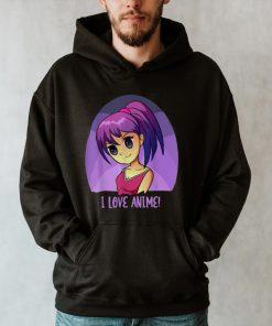 Otaku Manga Anime I Love Anime Design Anime T shirt