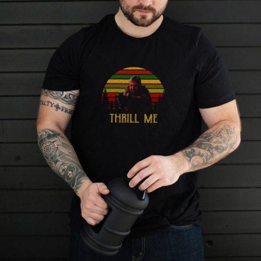 Ray Cameron Thrill Me Vintage Retro T shirt