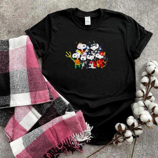 Snoopy captain superhero shirt