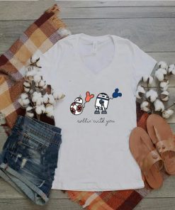 Star Wars R2D2 and BB8 S Rollin With You shirt
