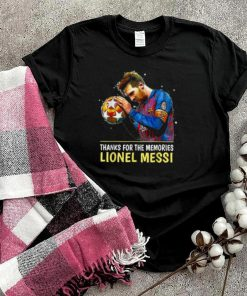 Thank you for the memories Leonel Messi 2000 2021 FC B T Shirt