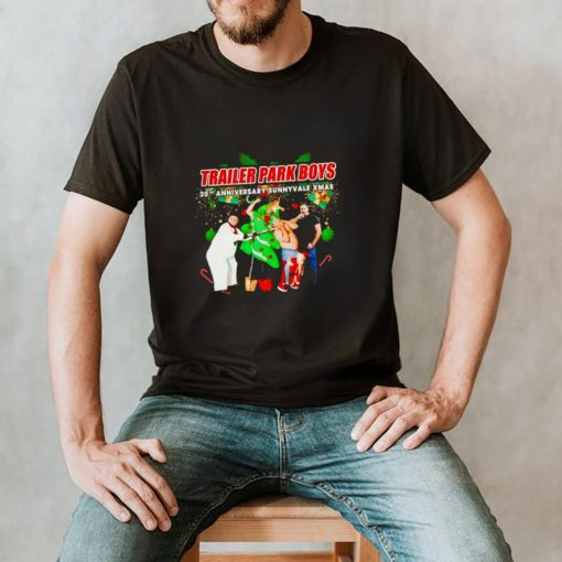 Trailer Park Boys 20th Anniversary sunnyvale Xmas shirt