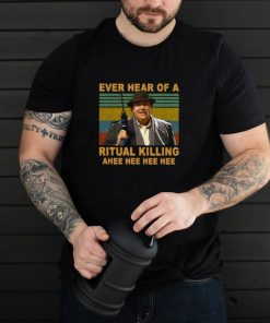 Uncle Buck Ever Hear Of A Ritual Killing Ahee Vintage T shirt