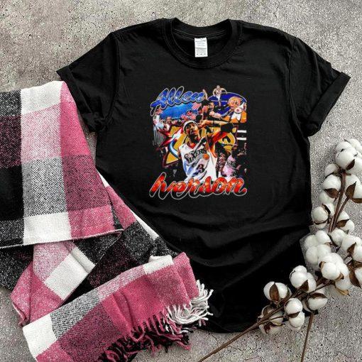 allen iverson the answer philadelphia 76ers shirt