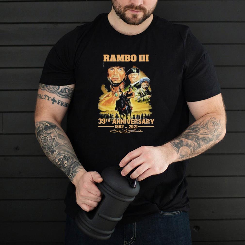rambo iii 30th anniversary 1982 2921 shirt