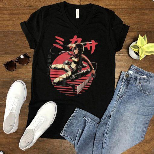 Atos Mikasas Anime Manga Character For Fan shirt