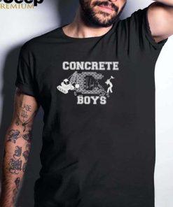 Concrete boys digital shirt