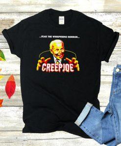 Fear the whispering horror creepjoe Biden halloween shirt
