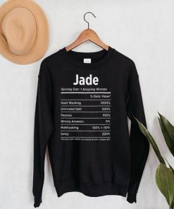 My Name Is Jade Funny Name Tag T Shirt
