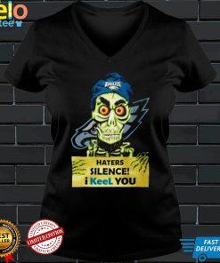 Achmed Philadelphia Eagles Haters Silence I keel you shirt
