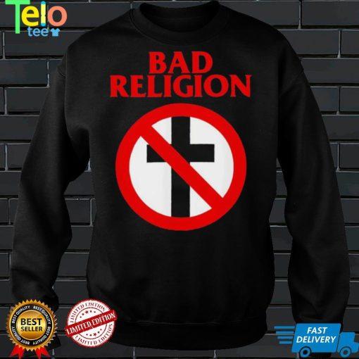 Bad Religion Merchandise Crossbuster logo shirt