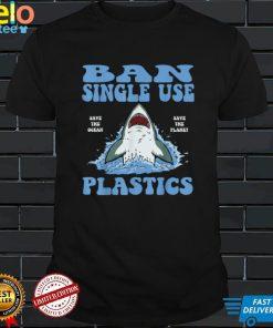 Ban Single Use Plastic Ocean Friendly Conservation T Shirt