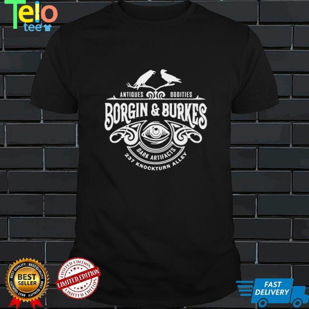 Borgin and Burkes Unusual and Ancient Wizarding Artefacts Wizard shirt