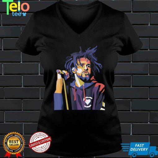 J Cole Tee Rapper Retro Vintage T Shirt