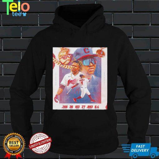 Cleveland Indians Jose Ramirez poster shirt
