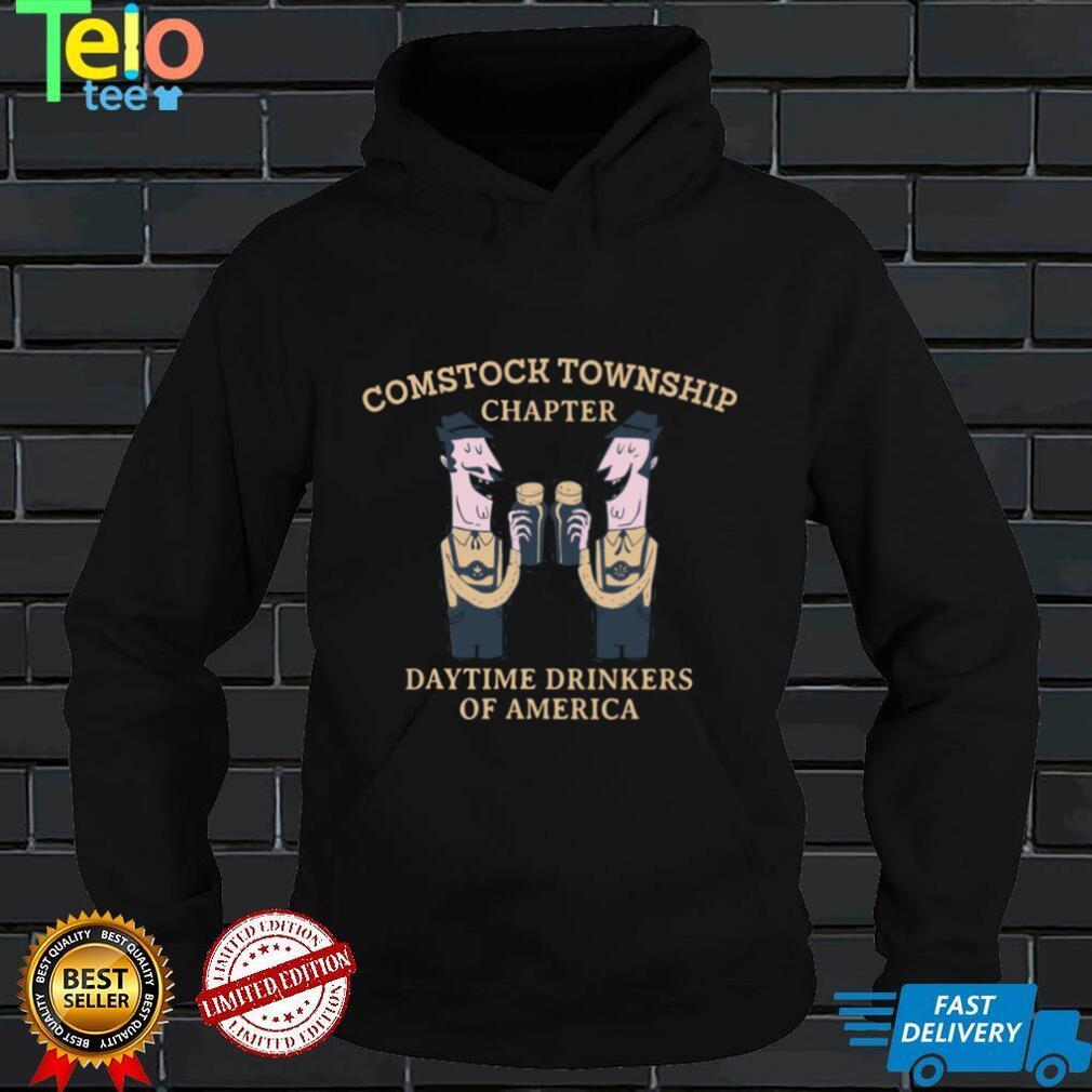 Comstock Township Chapter Daytime Drinkers Michigan Sweatshirt