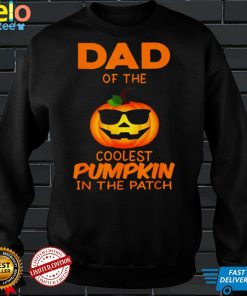 Dad Of The Coolest Pumpkin In The Patch Matching Halloween T Shirt