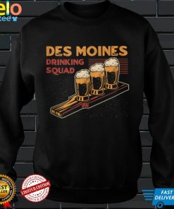 Des Moines Drinking Squad Iowa Beer Lover IA Booze Alcoholic Tank Top